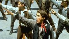 A scene from the 1992 film Newsies starring Christian Bale. - Provided courtesy of Disney