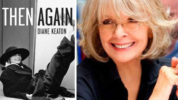 Diane Keaton appears on the cover of her 2011 book, Then Again: A Memoir. / Diane Keaton in a scene from the 2010 film Morning Glory. - Provided courtesy of Random House / Paramount Pictures