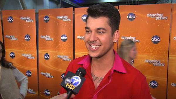 Rob Kardashian talks to OnTheRedCarpet.com after the ninth results show of season 13 of Dancing With The Stars. - Provided courtesy of OTRC
