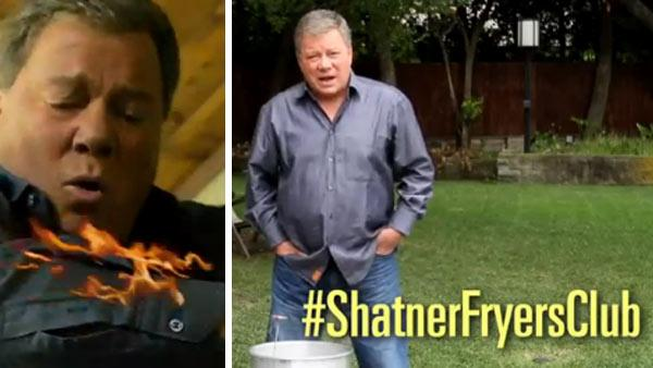 William Shatner is seen in this State Farm Insurance ad, posted online on Nov. 14, 2011. - Provided courtesy of State Farm Insurance