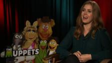 Amy Adams talks to OnTheRedCarpet.com in November 2011 at a junket to promote The Muppets. - Provided courtesy of OTRC