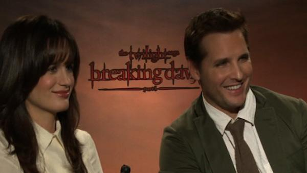 Peter Facinelli talks 'Breaking Dawn - Part 1'