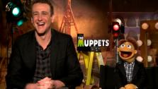 Jason Segel and Walter talk to OnTheRedCarpet.com in a press junket for The Muppets. - Provided courtesy of OTRC