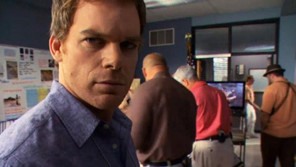 Michael C. Hall appears in a scene from the Showtime series Dexter. - Provided courtesy of Showtime