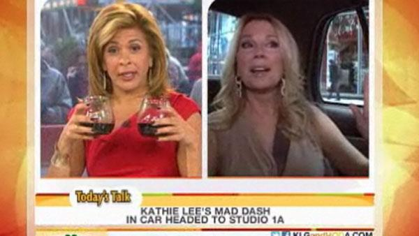 Hoda Kotb and Kathie Lee Gifford are seen on NBCs Today show on Nov. 18, 2011, the day Gifford appeared on Regis Philbins last regular appearance as a co-host of ABC program LIVE! with Regis and Kelly. - Provided courtesy of NBC