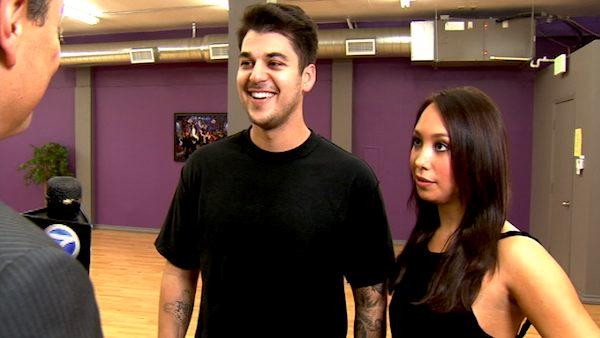 Rob Kardashian wants to win for Cheryl Burke