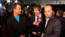 Daughtry talks to On The Red Carpets George Pennachio at the 2011 American Music Awards on November 20. - Provided courtesy of OTRC