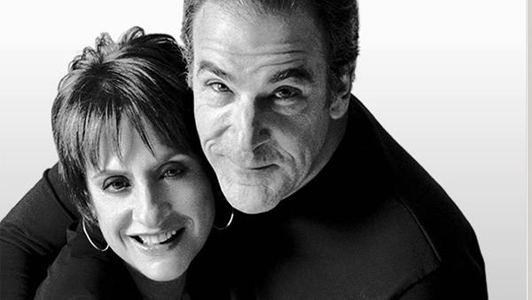 Mandy Patinkin and Patti LuPone appear in a promotional photo for 'An Evening with Patti LuPone and Mandy Patinkin.'