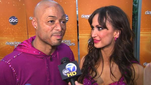 J.R. Martinez talks day before 'DWTS' finale