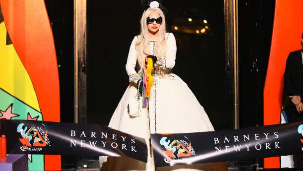 Lady Gaga cuts ribbon at 'Gaga's Workshop' event