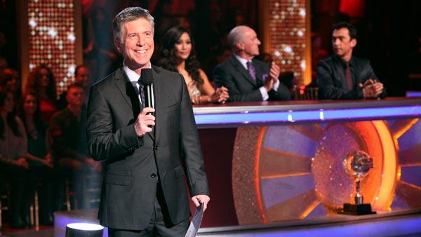 Tom Bergeron hosts Dancing With The Stars which airs every Monday and Tuesday on ABC. Who will win this season? - Provided courtesy of ABC