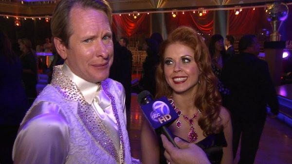 Carson Kressley talks to OnTheRedCarpet.com after the finale of Dancing With The Stars on Nov. 22, 2011.