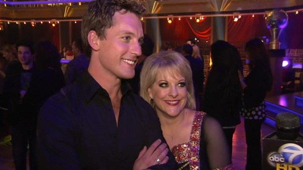 Nancy Grace talks to OnTheRedCarpet.com after the finale of Dancing With The Stars on Nov. 22, 2011. - Provided courtesy of KABC