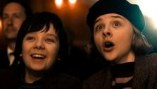 Chloe Grace Moretz and Asa Butterfield appear in a still from Hugo. - Provided courtesy of none / Paramount Pictures