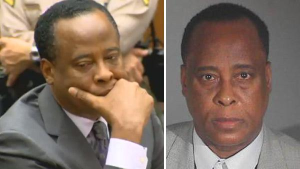 Dr. Conrad Murray appears at his sentencing for involuntary manslaughter in the death of Michael Jackson on Tuesday, Nov. 29, 2011. / Dr. Conrad Murray appears in this mug shot provided by the Los Angeles County Sheriffs Department. - Provided courtesy of OTRC