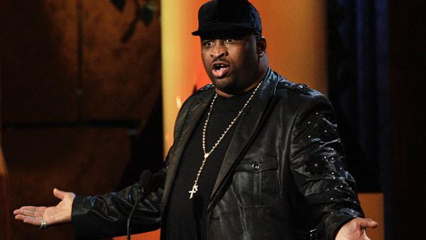 Patrice O'Neal appears in a photo from the 2011 'Comedy Central Roast of Charlie Sheen.'