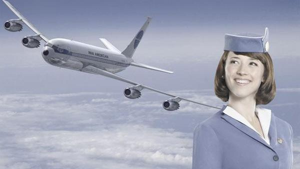 Karine Vanasse appears in a promotional photo for the ABC show Pan Am. - Provided courtesy of ABC