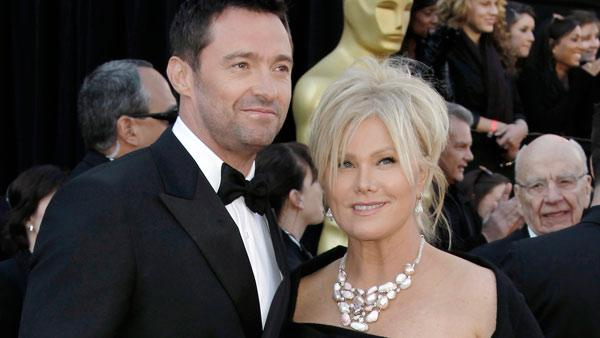 Hugh Jackman and wife, Deborra-Lee Furness, arrive before the 83rd Academy Awards on Sunday, Feb. 27, 2011, in the Hollywood section of Los Angeles. - Provided courtesy of AP / AP Photo/Matt Sayles