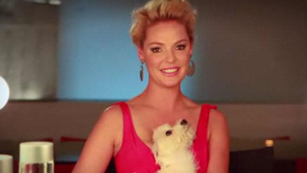 Katherine Heigl appears in a still from a 2011 PSA for her I Hate Balls campaign. - Provided courtesy of FunnyorDie.com