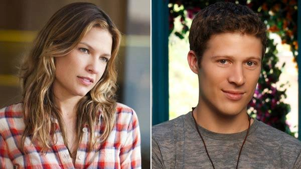 Zach Gilford appears in a promotional still in 2011 for the show Off the Map. / Kiele Sanchez appears in a scene from The Glades. - Provided courtesy of ABC / A&E
