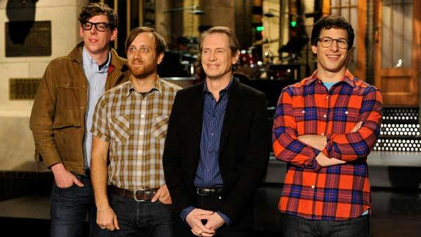 Steve Buscemi appears in a still from Saturday Night Live, which aired on December 3, 2011. - Provided courtesy of NBC