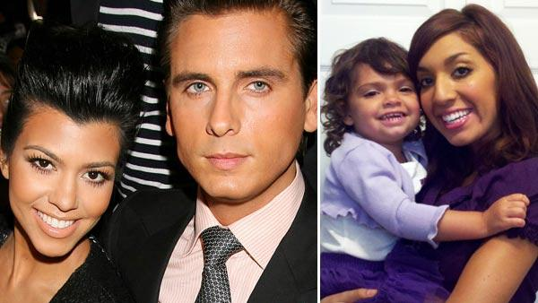 Kourtney Kardashian and Scott Disick attend Mercedes-Benz fashion week in New York, Saturday, Sept. 11, 2010. / Farrah Abraham and her daughter Sophia appears in a photo posted on her official Twitter page on October 20, 2011. - Provided courtesy of AP / AP Photo/Starpix, Dave Allocca