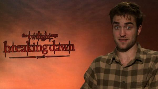 Robert Pattinson talks to OnTheRedCarpet.com about 'The Twilight Saga: Breaking Dawn' at a press junket in November 2011.