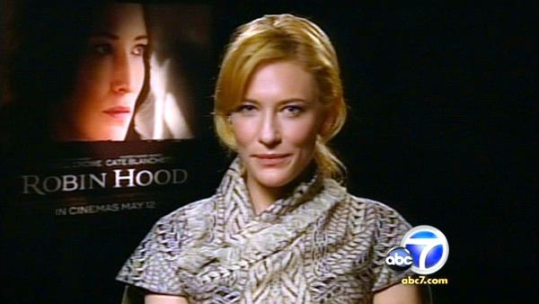 Cate Blanchett exerts force in her heroic new role. She co-stars in the weekend's big release, 'Robin Hood'