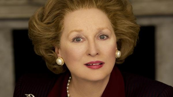Meryl Streep appears in this 2011 promotional photo as Margaret Thatcher for the movie 'The Iron Lady.'