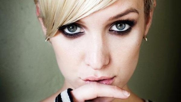 Ashlee Simpson appears in a photo posted on her official facebook page on November 19, 2011.