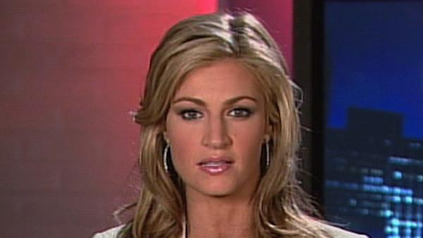 ESPN newscaster Erin Andrews said on Friday her participation in Dancing With the Stars was a perfect distraction from a stalking case that had resulted in nude videos of her being leaked on the Internet. - Provided courtesy of KABC