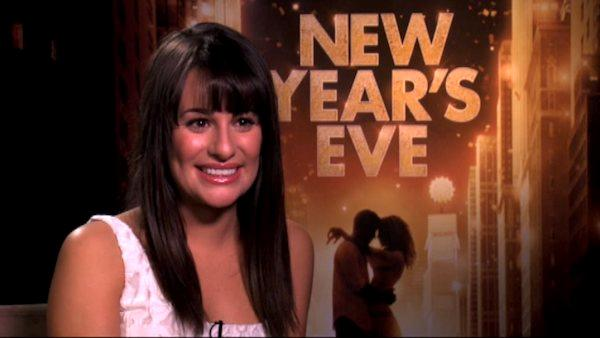 Lea Michele talks 'New Year's Eve' plans