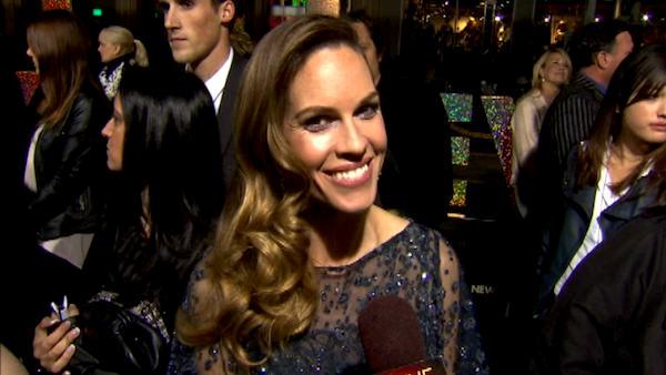 Hilary Swank does 'New Year's Eve' premiere