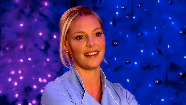 Katherine Heigl talks New Year's resolutions