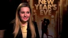 Abigail Breslin talks to OnTheRedCarpet.com in a press junket for New Years Eve. - Provided courtesy of OTRC