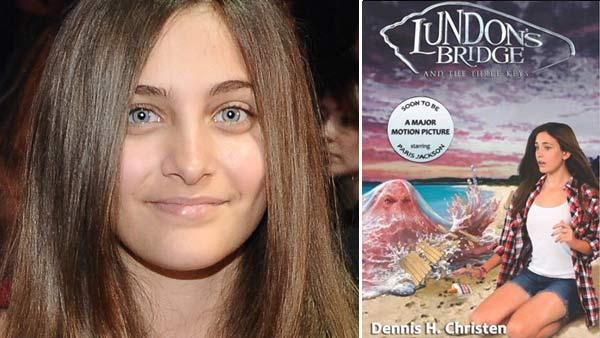 Michael Jackson daughter Paris sits in the audience of The X Factor, in Los Angeles, where contestants sang songs in a tribute to the late King of Pop on November 30, 2011. / Paris Jackson appears on the cover of Lundons Bridge and the Three Keys. - Provided courtesy of FOX / Michael Becker / Lundons.com / C-It Entertainment Group