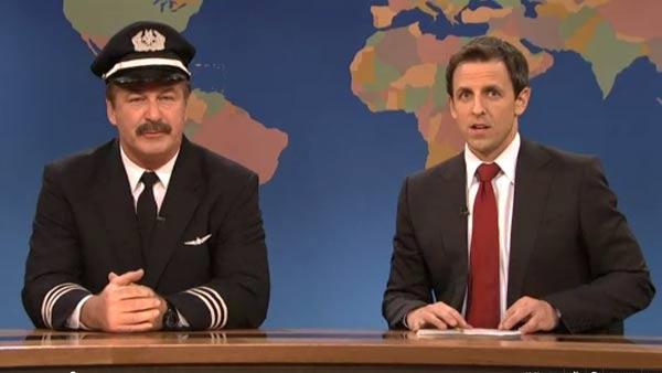 Alec Baldwin appears in the December 10 episode of Saturday Night Live. - Provided courtesy of NBC
