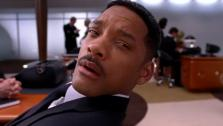 Will Smith appears in a scene from the 2012 film Men in Black III. - Provided courtesy of Sony Pictures