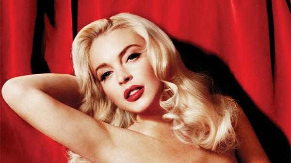 Lindsay Lohan appears in a photo published in Playboys January/February 2012 issue. - Provided courtesy of Playboy