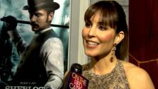 Noomi Rapace talks to OnTheRedCarpet.com at the Hollywood premiere of Sherlock Holmes: A Game of Shadows. - Provided courtesy of OTRC