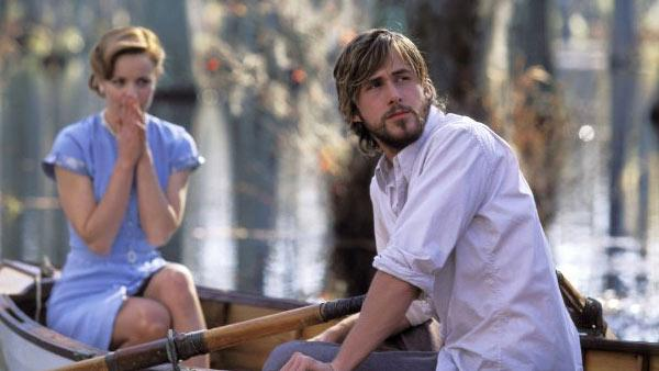 Ryan Gosling and Rachel McAdams appear in a still from the 2004 film, The Notebook. - Provided courtesy of New Line Cinema / Melissa Moseley