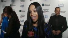 Bianca Lawson of The Vampire Diaries talks to OnTheRedCarpet.com about The Water Project on Dec. 10, 2011. - Provided courtesy of none / OTRC
