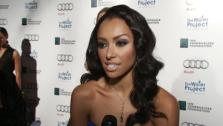Kat Graham of The Vampire Diaries talks to OnTheRedCarpet.com about The Water Project on Dec. 10, 2011. - Provided courtesy of none / OTRC