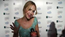 Arielle Kebbel of The Vampire Diaries talks to OnTheRedCarpet.com about The Water Project on Dec. 10, 2011. - Provided courtesy of none / OTRC