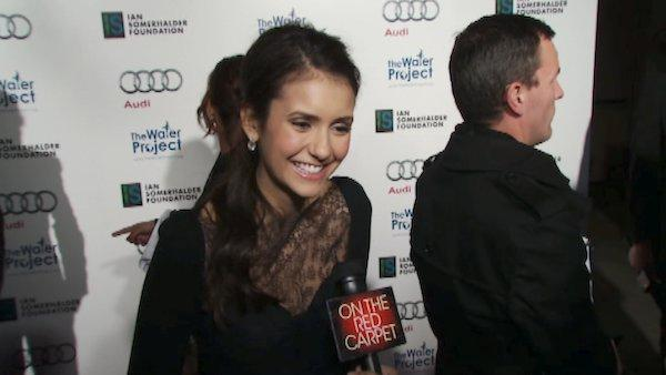 Nina Dobrev talks supporting her co-stars