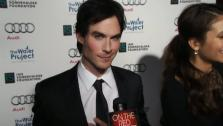 Ian Somerhalder of The Vampire Diaries talks to OnTheRedCarpet.com about The Water Project on Dec. 10, 2011. - Provided courtesy of none / OTRC
