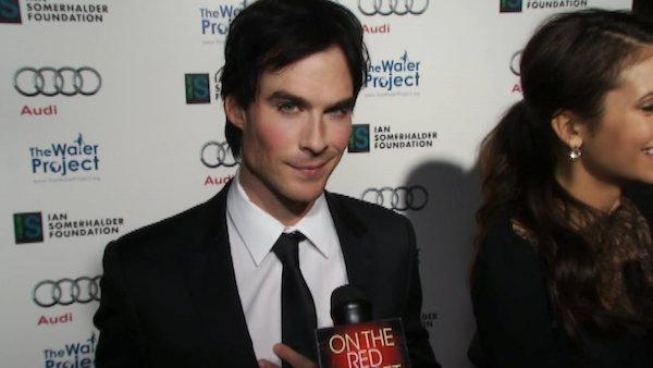 Ian Somerhalder talks giving back