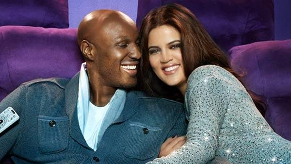 Khloe Kardashian and Lamar Odom appear a promotional photo for their show Khloe & Lamar. - Provided courtesy of E!