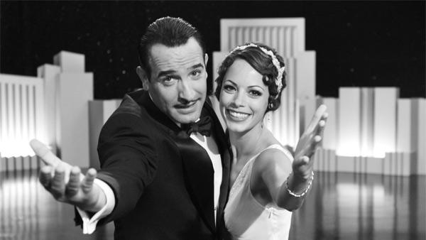 Jean Dujardin and Berenice Bejo appear in a promotional photo for the 2011 movie The Artist. - Provided courtesy of The Weinstein Company