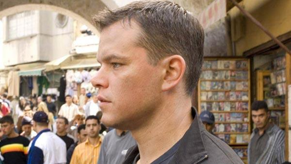 Matt Damon appears in a still from his 2007 film The Bourne Ultimatum. - Provided courtesy of Universal Pictures